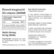 Vitaking D-2000 gélkapszula 90db