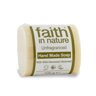 Faith in Nature illatmentes, Bio Tengeri hínár szappan (100g)