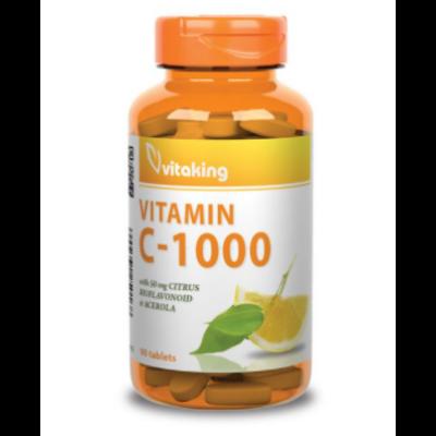 Vitaking C-vitamin 1000mg bioflavonoidokkal 90db