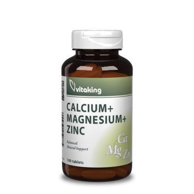 Vitaking CalMag + Cink tabletta 100db