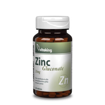 Vitaking Cink glükonát 90db