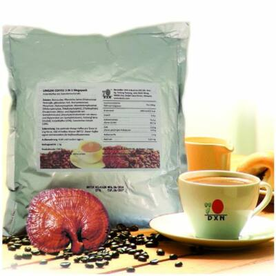 Lingzhi Coffee 3in1 EU megapack (1kg)