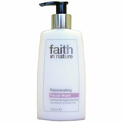 Faith in Nature Fiatalító Arclemosó (150 ml)