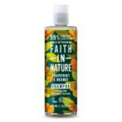 Faith in Nature Bio Grapefruit és Narancs sampon (400ml)