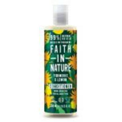 Faith in Nature Kurkuma és Citrom hajbalzsam (400ml)