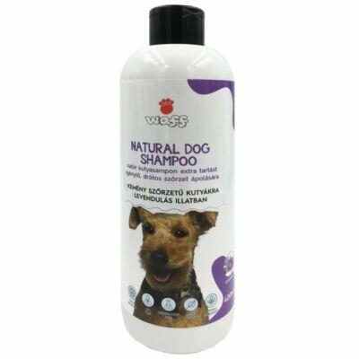 Waff natúr kutyasampon kemény, drótos szőrű kutyáknak levendula illattal 400ml