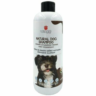 Waff natúr kutyasampon sötét szőrű kutyáknak kókusz illattal 400ml