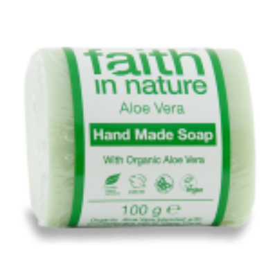 Faith in Nature Bio Aloe Vera szappan 100g
