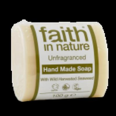 Faith in Nature illatmentes, Bio Tengeri hínár szappan (100g)