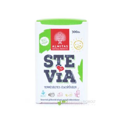 Almitas Stevia (sztívia) tabletta (300db)