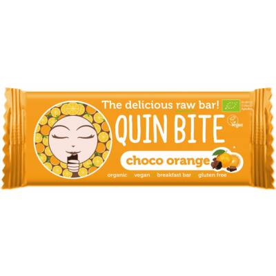 Bio Quin Bite nyers szelet – Csoki & Narancs